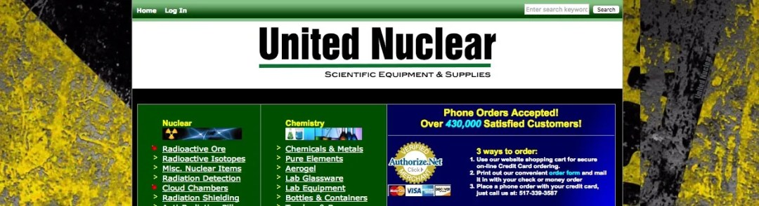 Radioactive Isotopes for Sale