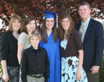 Heather and her proud family