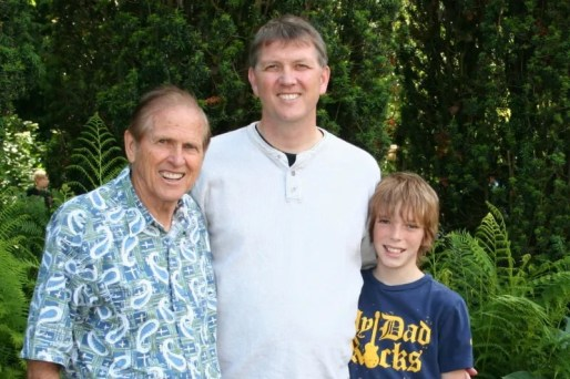 Three generations of Logan men