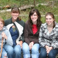Jamison, Ashley, Heather, and Melissa