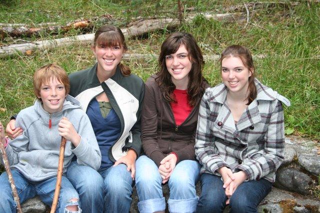 Jamison, Ashley, Heather, and Melissa