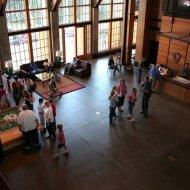 Inside of Jackson Visitor Center