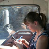 Ashley Texting