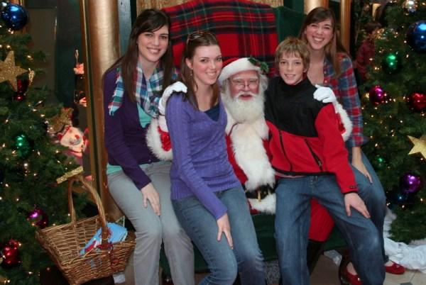 The Kids on Santa's Lap