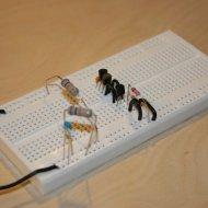 Oscillator on the breadboard