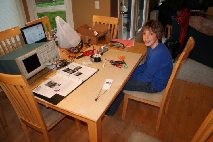 Jamison and his oscillator