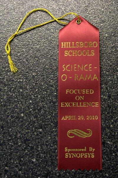 Science-O-Rama Ribbon