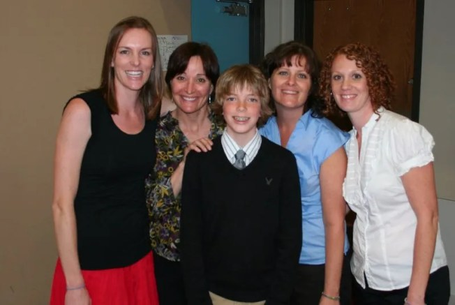 Jamison and His Teachers