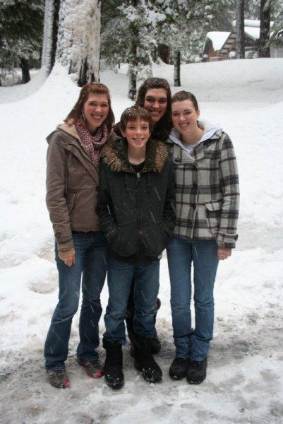 Ashley, Jamison, Heather, and Melissa
