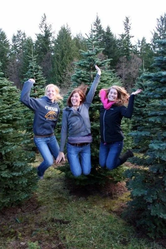 "Jump Shot - Ashley's traditional ""jump shot."" This time, she's joined by Hannah and Kaylah."