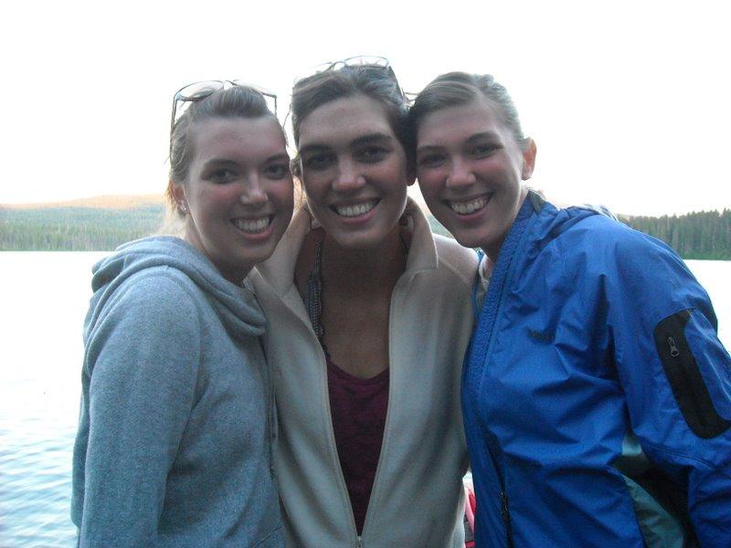 Melissa, Heather, and Ashley