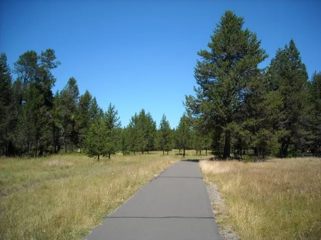 I could ride bike paths like this all day
