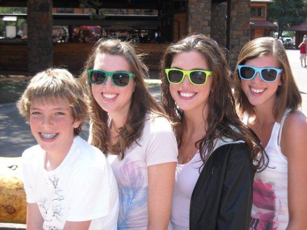 Jamison, Melissa, Heather, and Ashley