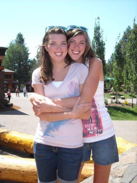 Melissa and Ashley