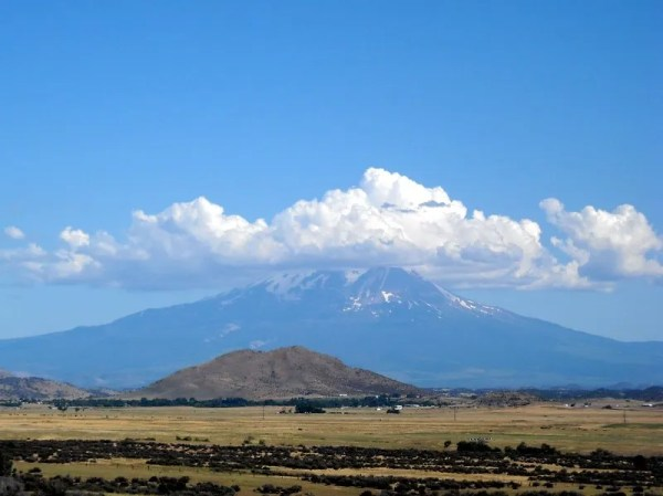 View east of Shasta