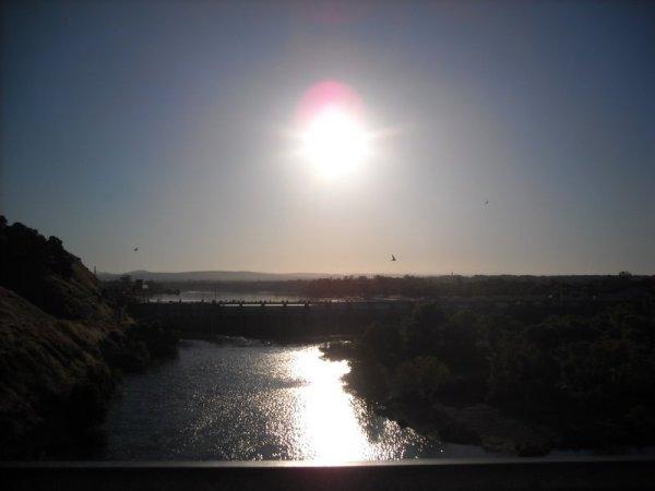 Nimbus Dam and Lake Natomas