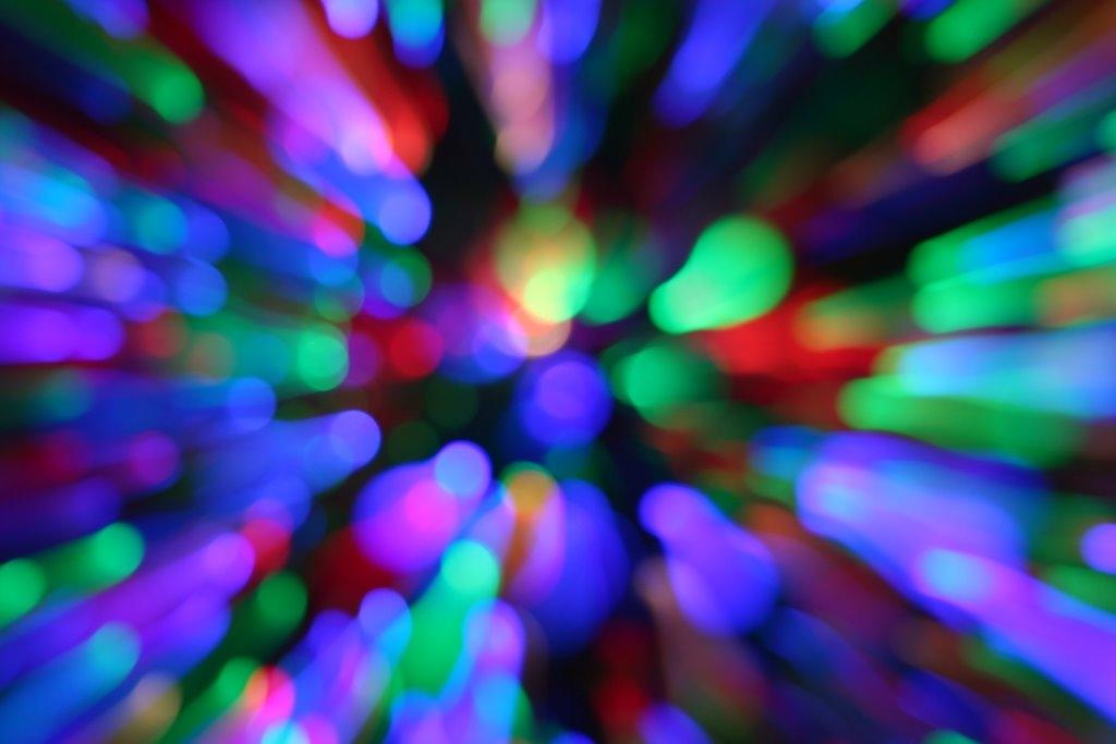 Zoomy blurry