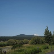 Final snap of Mt. Bachelor from the Sunriver Lodge
