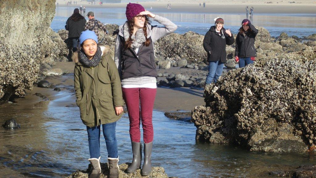 Yuna and Heather (and Suzi and Melissa)