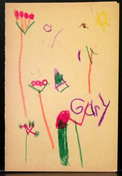 """Dear Brent, """"Get better! I would like you to come back."""" Love, Gary"""