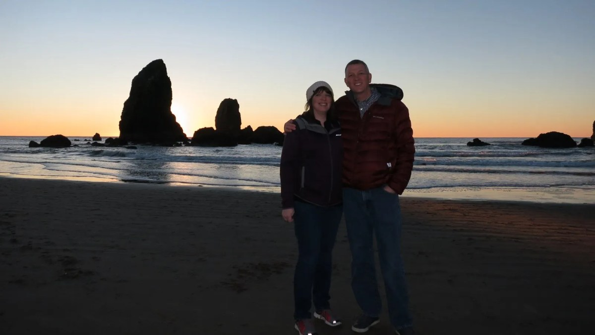 Cannon Beach for our anniversary