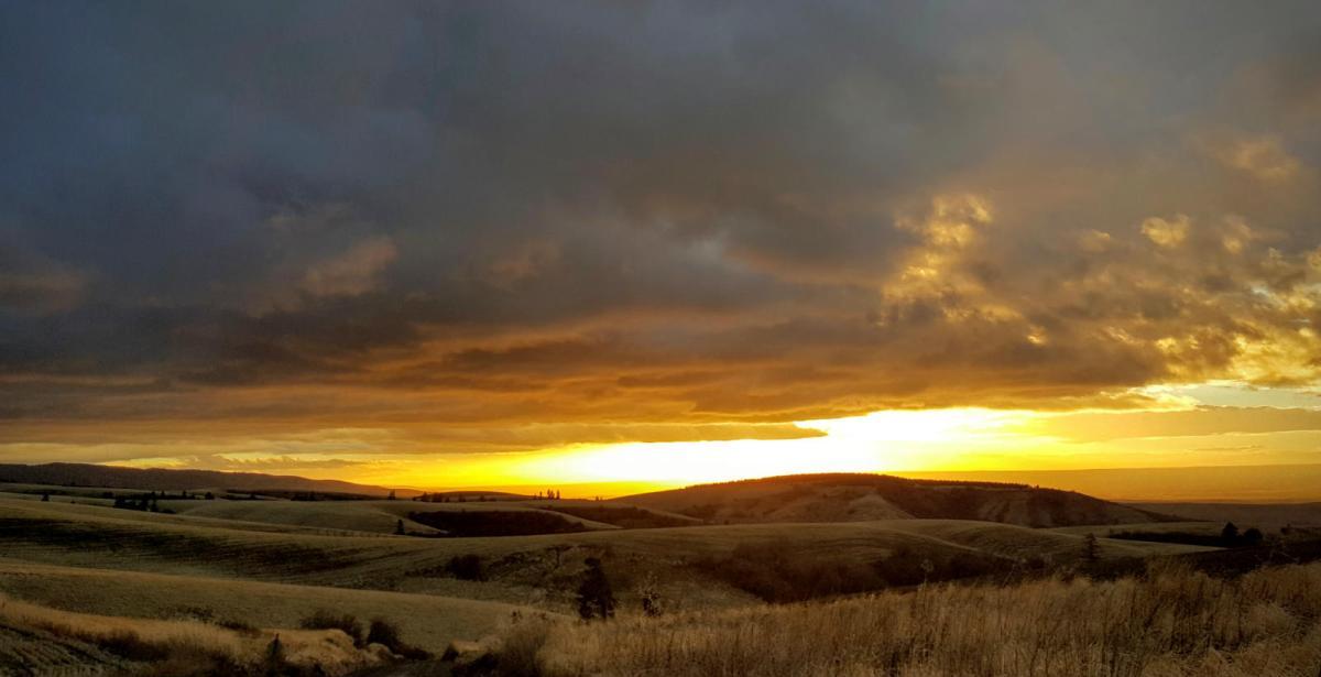 Sunset over Walla Walla