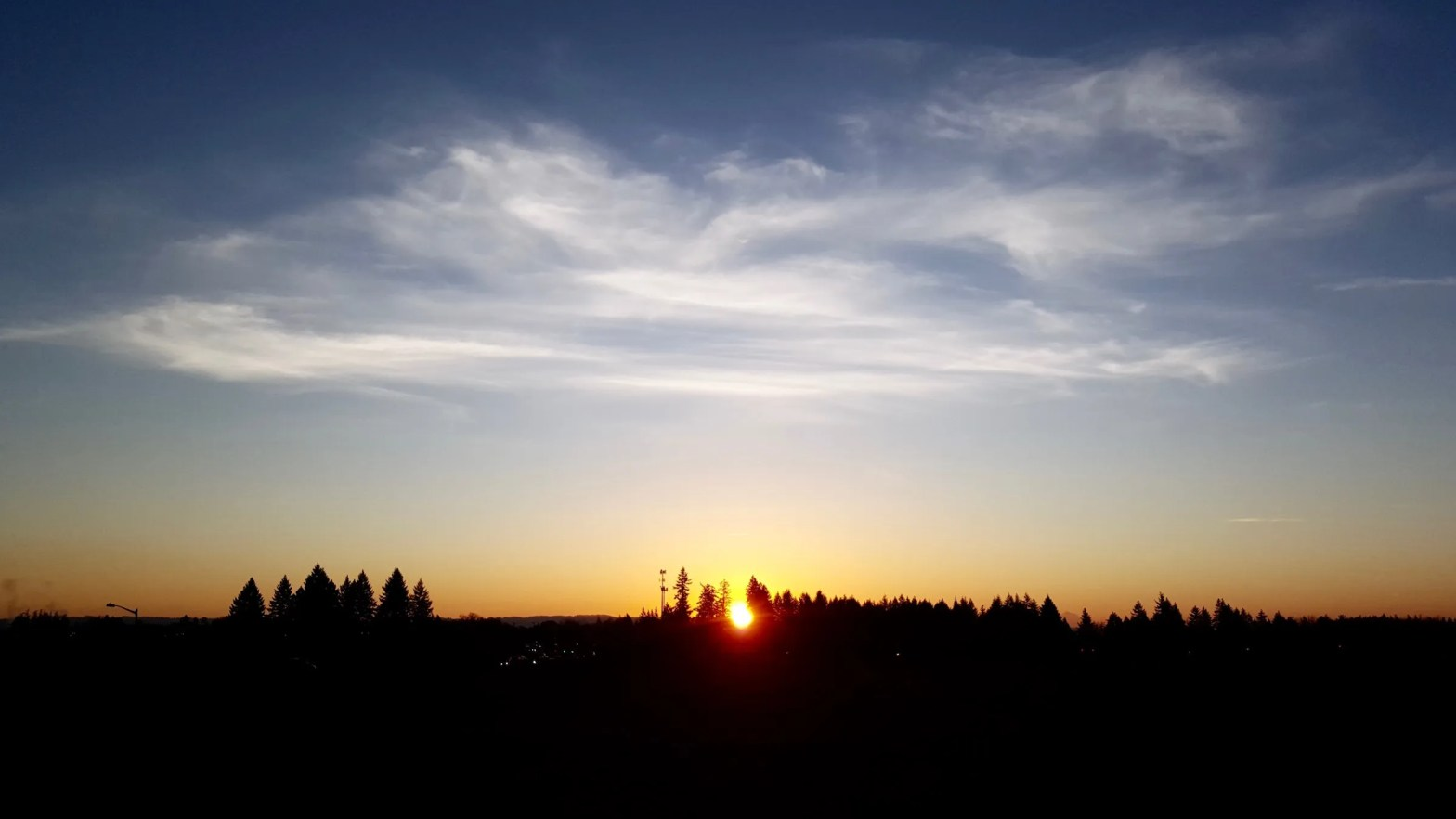 April Fools' Sunrise at my photospot