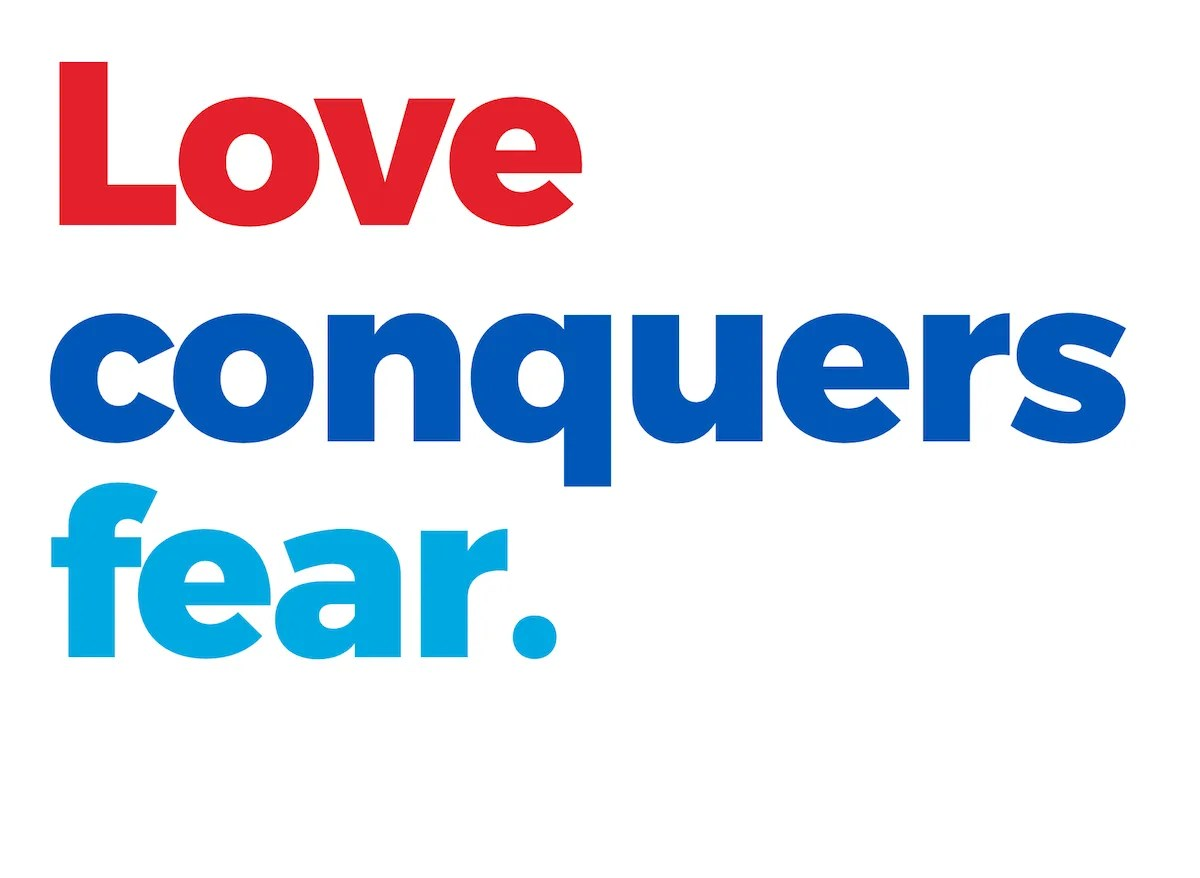 Love conquers fear