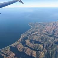The Pacific coast north of LA