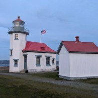 Lighthouse at Point Robinson