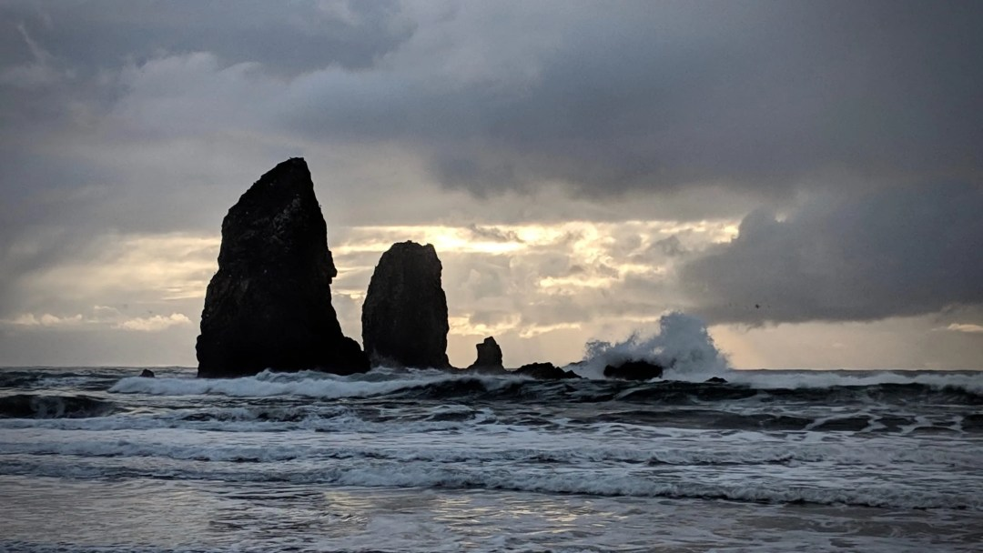 The Needles at Cannon Beach