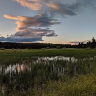 A little after sunset