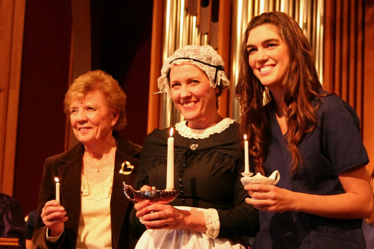I spent Saturday night with Florence Nightingale a…