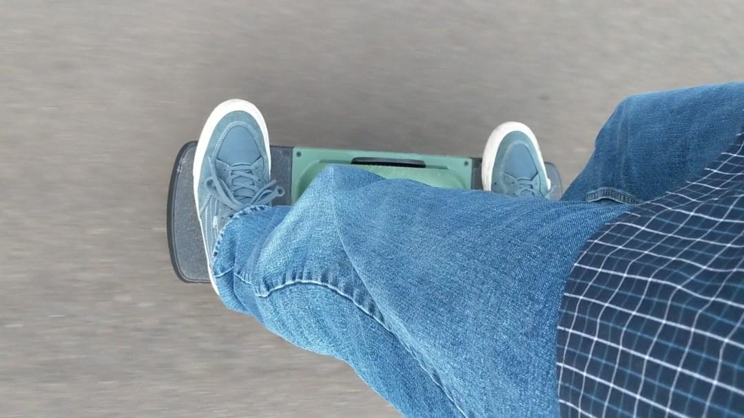 Riding the Onewheel