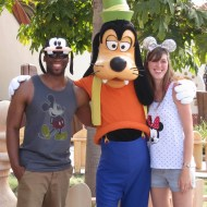 Kevin, Goofy, and Ashley