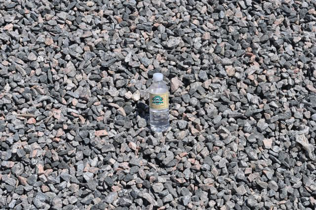 Clear Granite draining stone