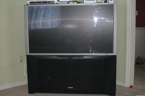 Hitachi Rear Projection TV