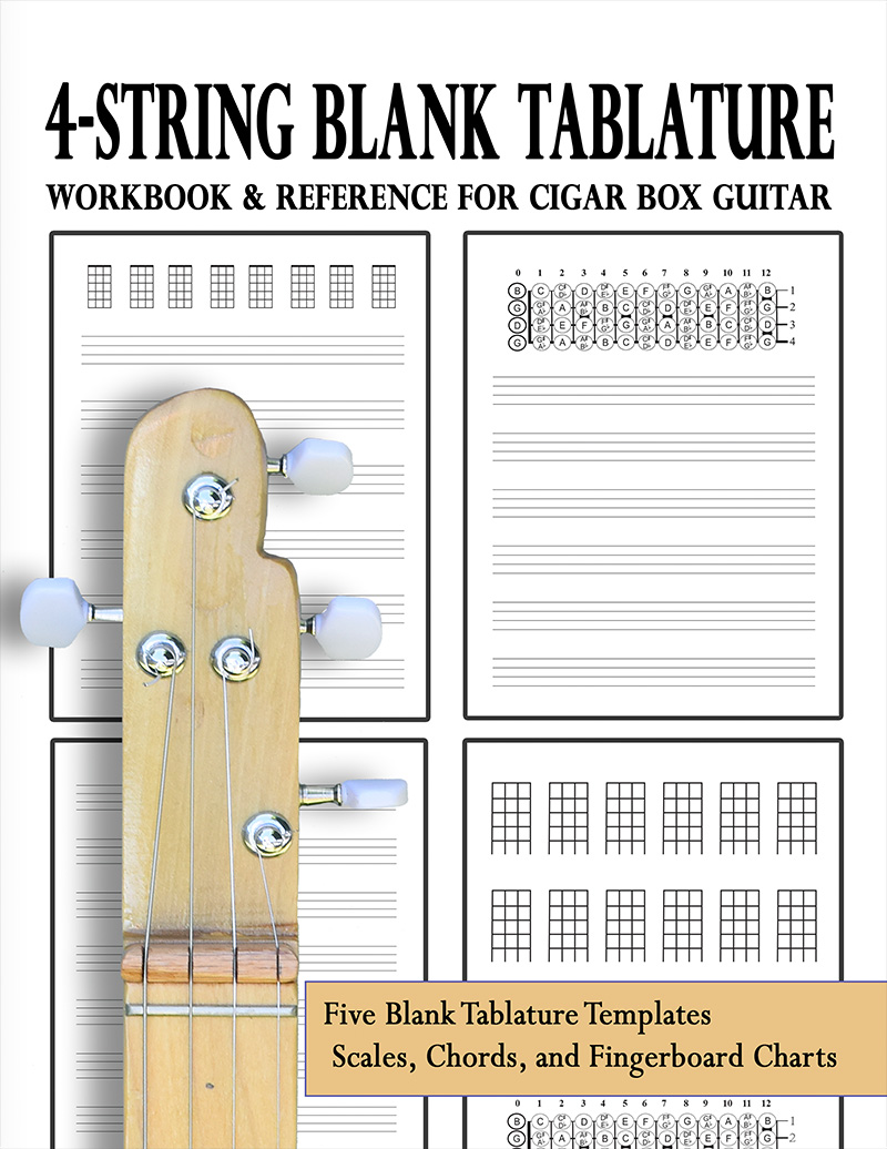 4-string-blank-tablature-workbook-reference-front-cover