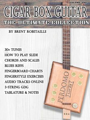 Cigar Box Guitar - The Ultimate Collection - 3-String