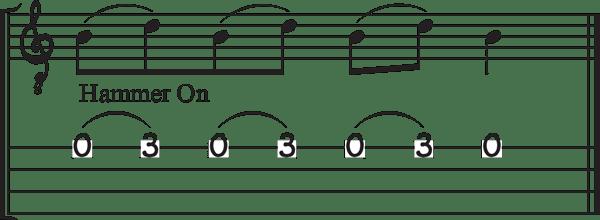 Lesson-3-CBG-Hammer-on-4-String