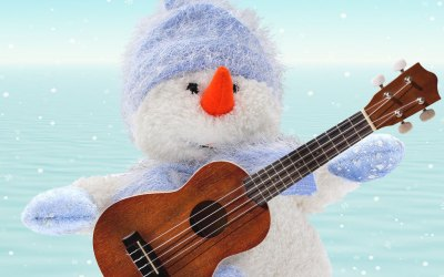 Ukulele Chords and Tabs for Three Christmas Songs