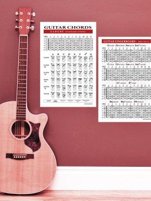 Guitar Chord Poster Set-small