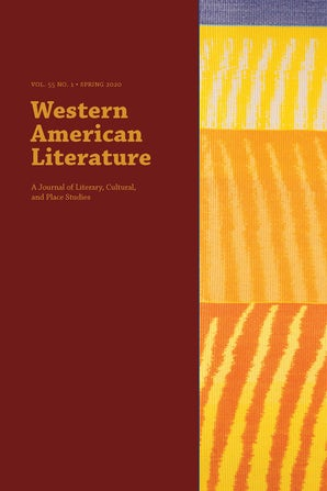 Cover of Western American Literature
