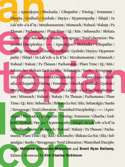 Book Cover An Ecotopian Lexicon