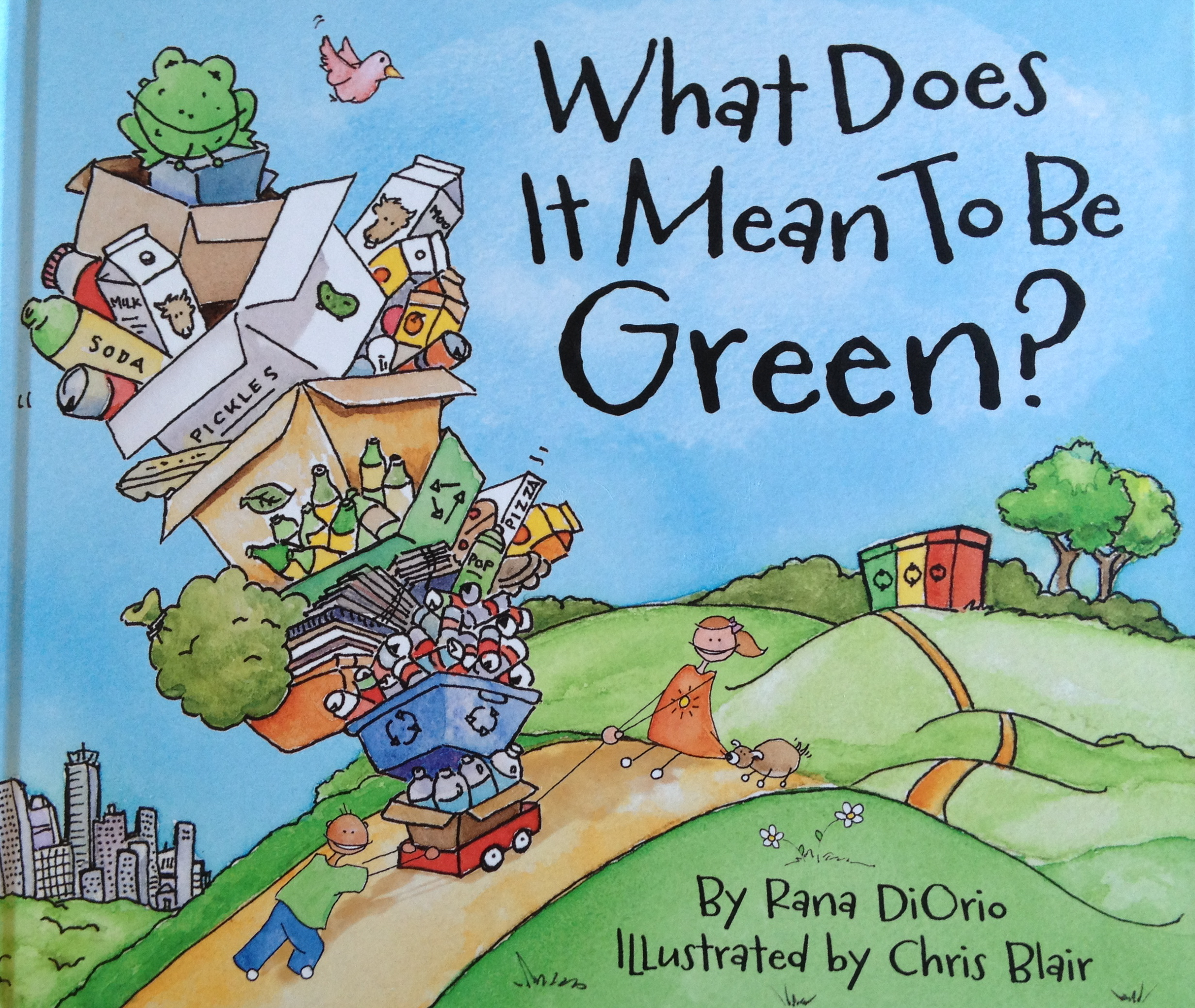 Learning Commons What Does It Mean To Be Green By Rana