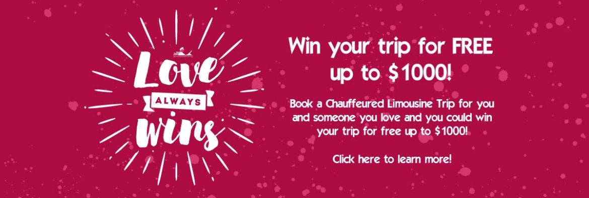 Win your trip for FREE up to $1000!