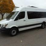 Mercedes Benz Sprinter Shuttle Van