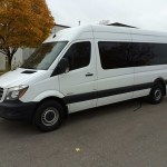 Mercedes Benz Sprinter Shuttle Van