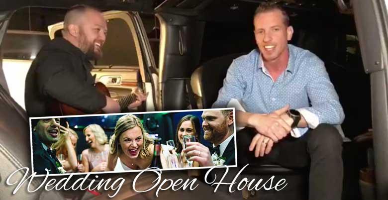 Facebook Live Wedding Open House