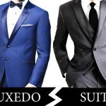 TUXEDO VS. SUIT: What's the Difference